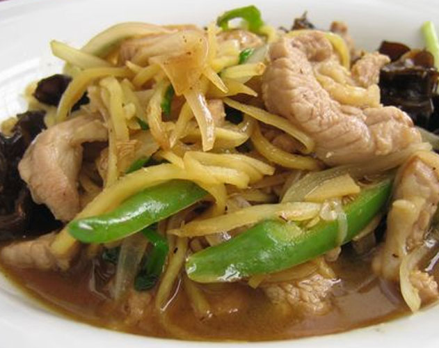 Stir fried pork with Ginger (Mu King)